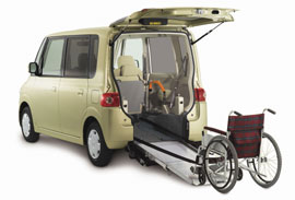 mini-vehicle for the disabled (Tanto Sloper)